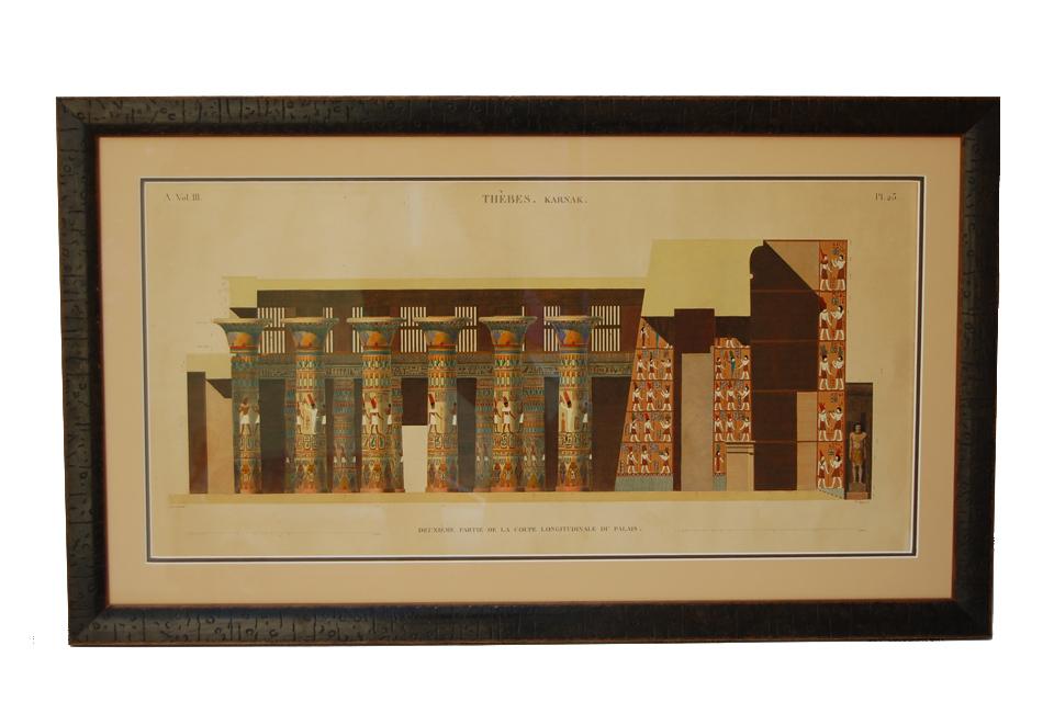 antique print framed | Keith Wilkinson Frames