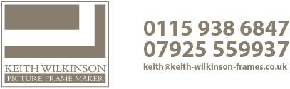 keith wilkinson picture framing nottingham. Black Bedroom Furniture Sets. Home Design Ideas